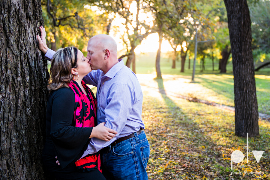 Couple Trinity Park Holiday Christmas outdoors married sunset backlit Sarah Whittaker Photo La Vie-5.JPG