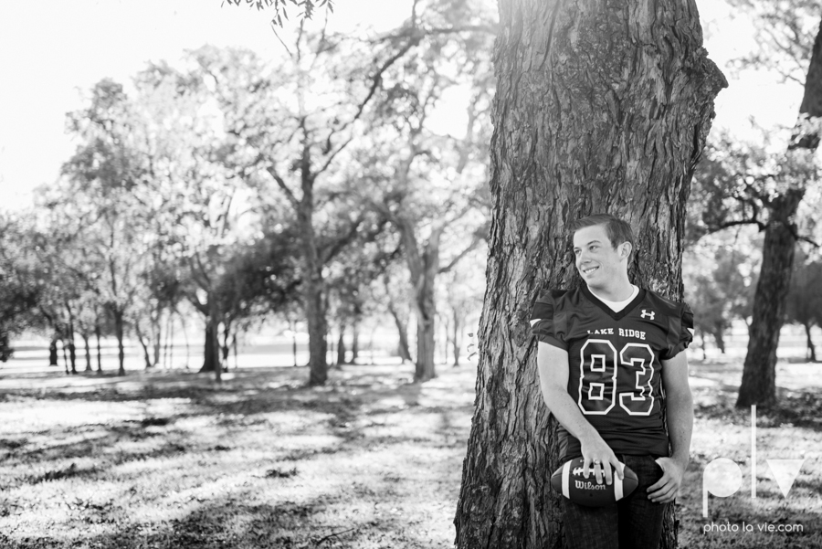 Andrew high school football player senior photos pictures downtown Fort Worth Trinity Park fall winter session sweater boy guy model Sarah Whittaker Photo La Vie-1.JPG