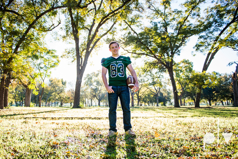 Andrew high school football player senior photos pictures downtown Fort Worth Trinity Park fall winter session sweater boy guy model Sarah Whittaker Photo La Vie-2.JPG