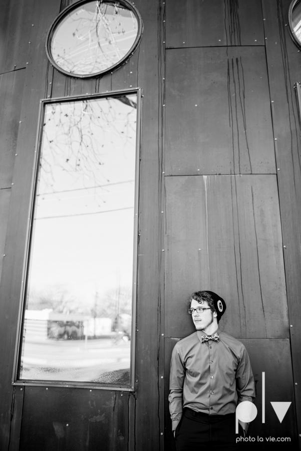 Caleb Senior Portraits Mansfield field trees evergreen winter violin downtown urban walls brick blue boy guy Sarah Whittaker Photo La Vie-9.JPG