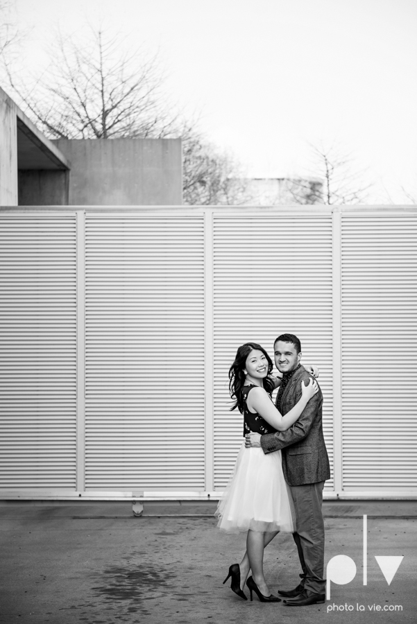 Mabel Hector engagement session Fort Worth Texas The Modern Art Museum The Kimbell kahn ando piano hot pink couple engaged ring shot texture winter architecture modern Sarah Whittaker Photo La Vie-2.JPG