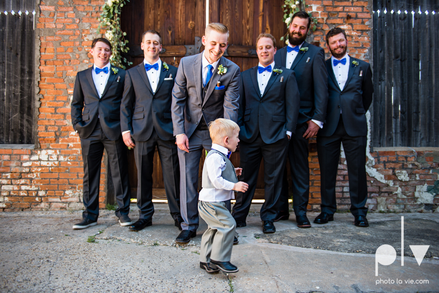 alyssa adam schroeder wedding mckinny cotton mill dfw texas outdoors summer wedding married pink dress vines walls blue lights Sarah Whittaker Photo La Vie-16.JPG