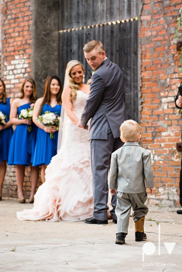 alyssa adam schroeder wedding mckinny cotton mill dfw texas outdoors summer wedding married pink dress vines walls blue lights Sarah Whittaker Photo La Vie-34.JPG