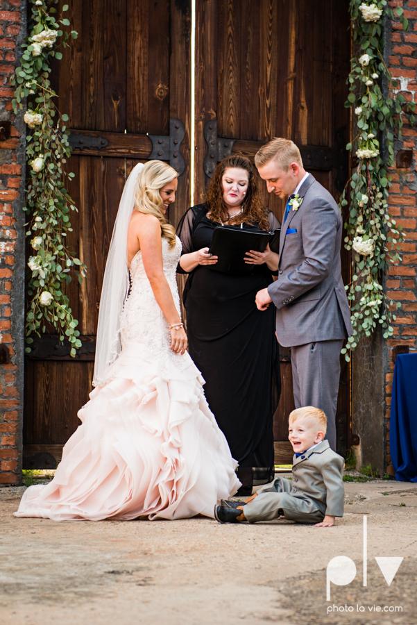 alyssa adam schroeder wedding mckinny cotton mill dfw texas outdoors summer wedding married pink dress vines walls blue lights Sarah Whittaker Photo La Vie-37.JPG