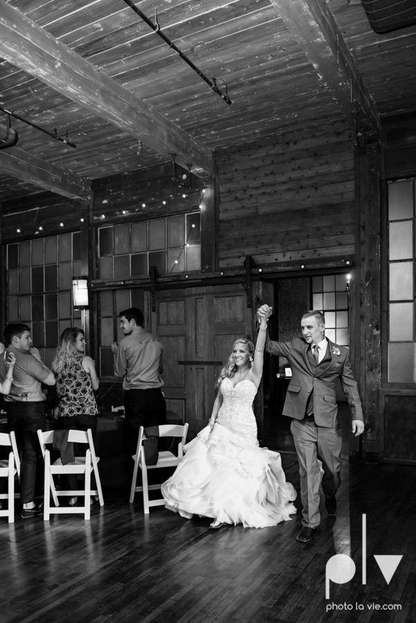 alyssa adam schroeder wedding mckinny cotton mill dfw texas outdoors summer wedding married pink dress vines walls blue lights Sarah Whittaker Photo La Vie-45.JPG