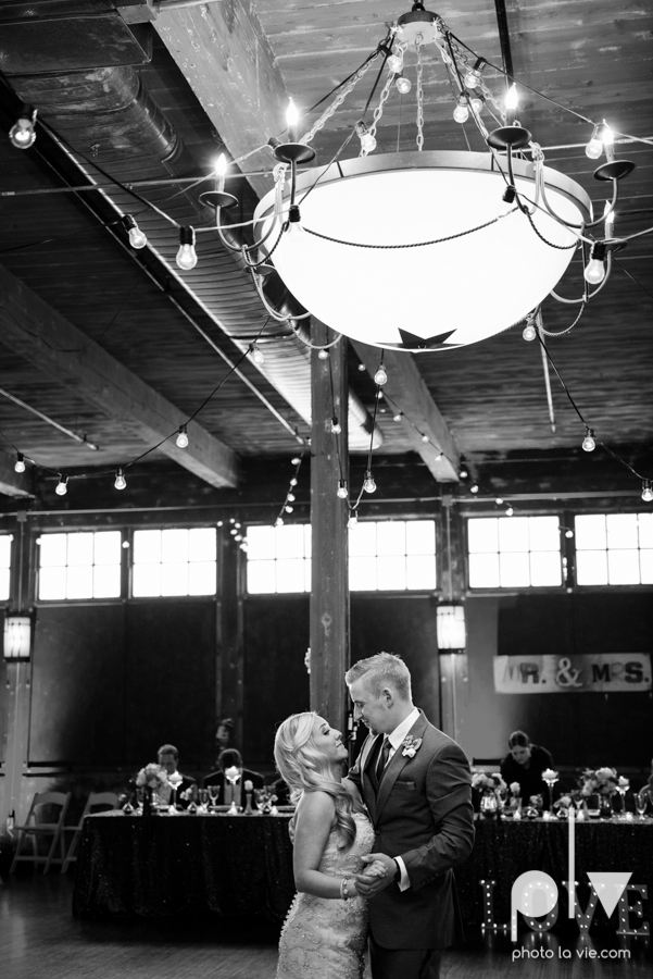 alyssa adam schroeder wedding mckinny cotton mill dfw texas outdoors summer wedding married pink dress vines walls blue lights Sarah Whittaker Photo La Vie-47.JPG
