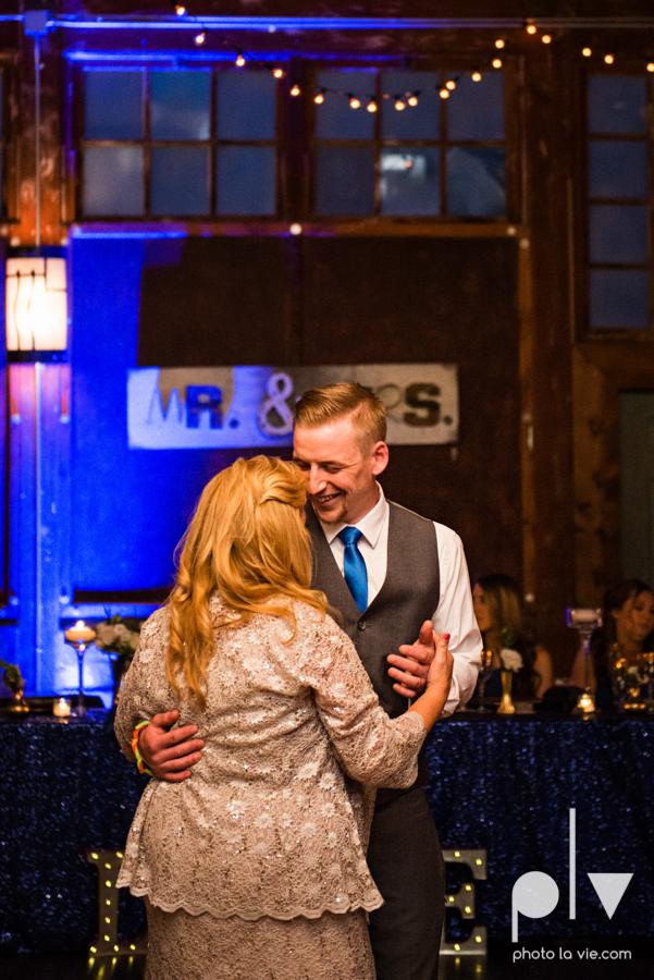 alyssa adam schroeder wedding mckinny cotton mill dfw texas outdoors summer wedding married pink dress vines walls blue lights Sarah Whittaker Photo La Vie-50.JPG