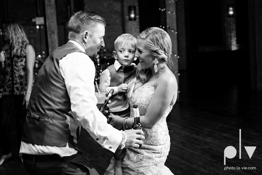 alyssa adam schroeder wedding mckinny cotton mill dfw texas outdoors summer wedding married pink dress vines walls blue lights Sarah Whittaker Photo La Vie-56.JPG