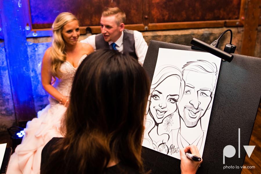 alyssa adam schroeder wedding mckinny cotton mill dfw texas outdoors summer wedding married pink dress vines walls blue lights Sarah Whittaker Photo La Vie-60.JPG
