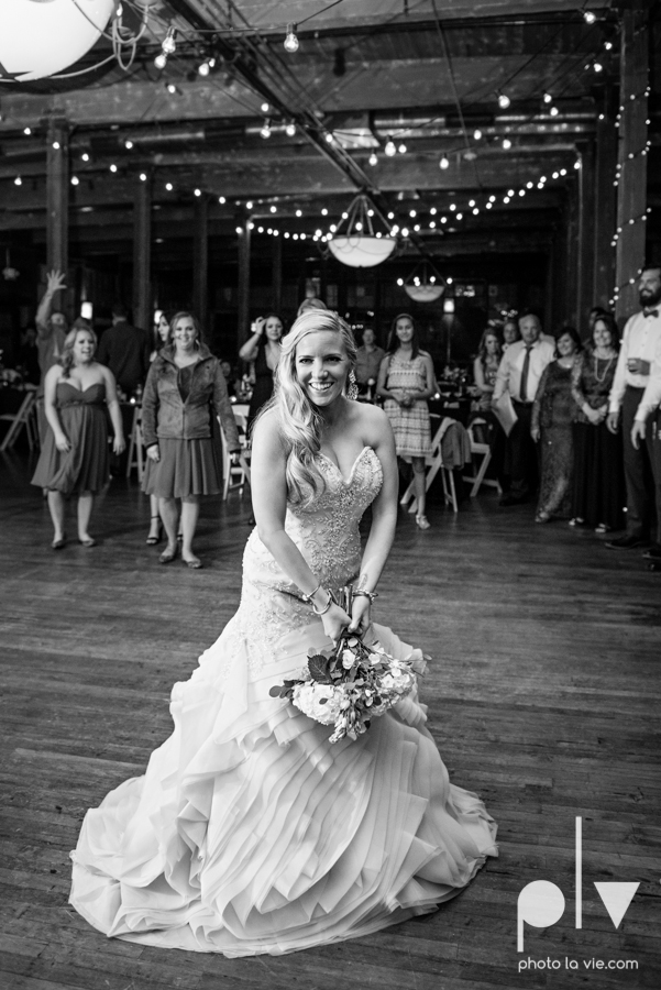 alyssa adam schroeder wedding mckinny cotton mill dfw texas outdoors summer wedding married pink dress vines walls blue lights Sarah Whittaker Photo La Vie-61.JPG