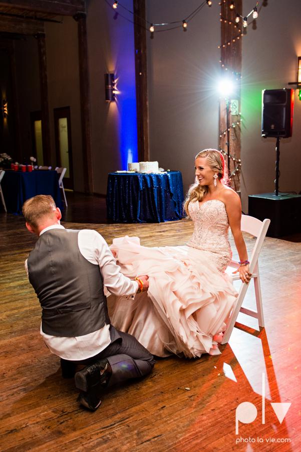 alyssa adam schroeder wedding mckinny cotton mill dfw texas outdoors summer wedding married pink dress vines walls blue lights Sarah Whittaker Photo La Vie-62.JPG