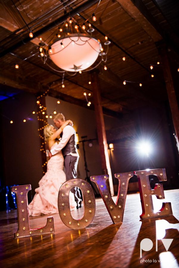 alyssa adam schroeder wedding mckinny cotton mill dfw texas outdoors summer wedding married pink dress vines walls blue lights Sarah Whittaker Photo La Vie-67.JPG
