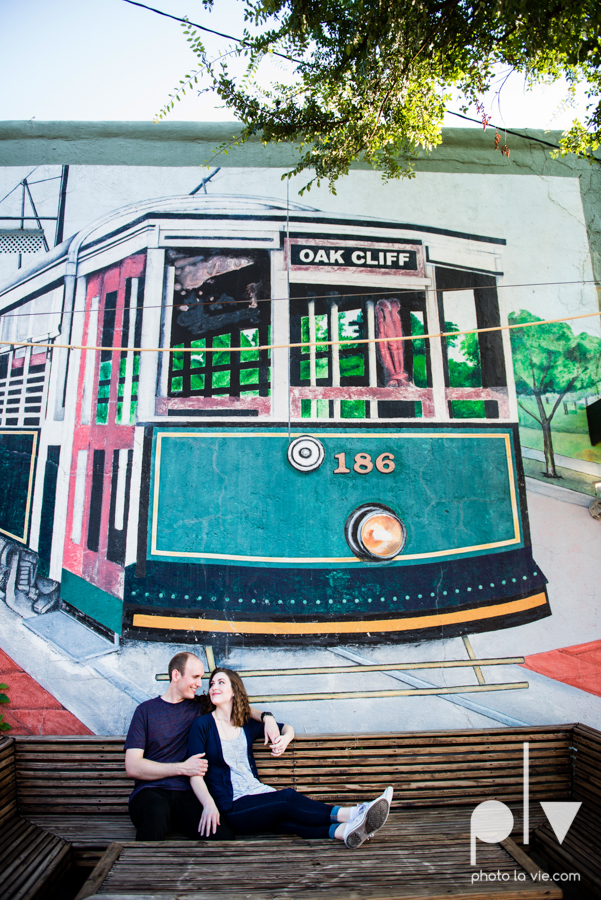 Tori Robert engagement session esession DFW Dallas Bishop Arts District Park Field tx couple guitar ring mural urban walls trees outdoors summer spring emporium pies music poplove Sarah Whittaker Photo La Vie-11.JPG