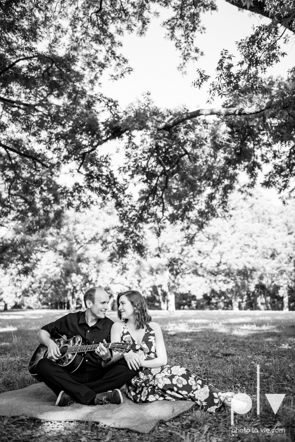 Tori Robert engagement session esession DFW Dallas Bishop Arts District Park Field tx couple guitar ring mural urban walls trees outdoors summer spring emporium pies music poplove Sarah Whittaker Photo La Vie-13.JPG