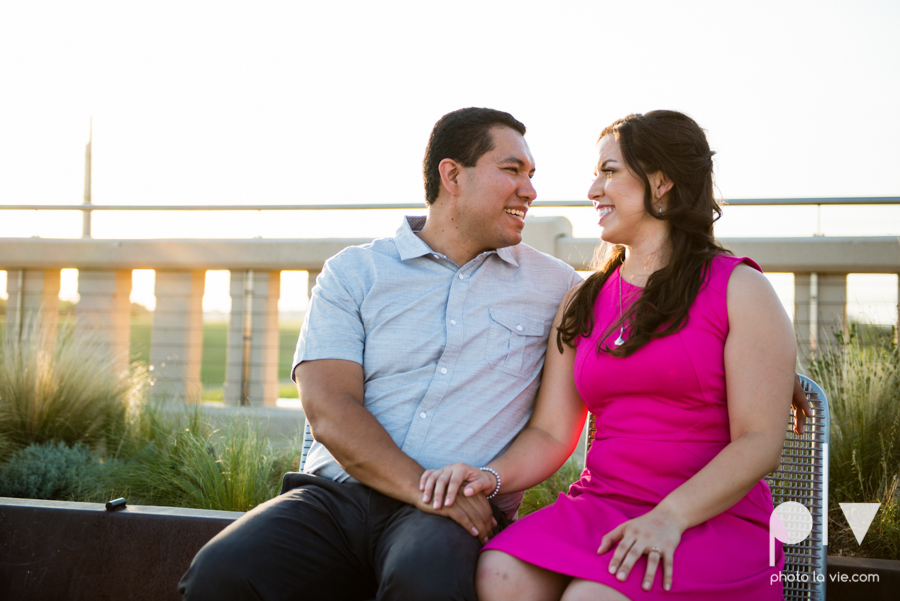 DFW engagement session Dallas hunt hill bridge pedestrian bridge University of Dallas couple DU summer Photo La Vie-14.JPG