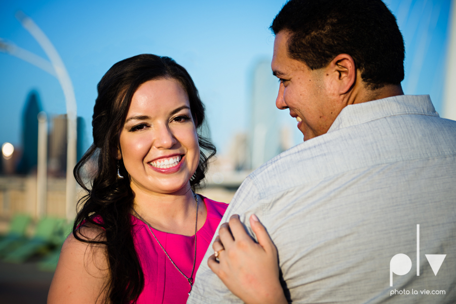DFW engagement session Dallas hunt hill bridge pedestrian bridge University of Dallas couple DU summer Photo La Vie-18.JPG