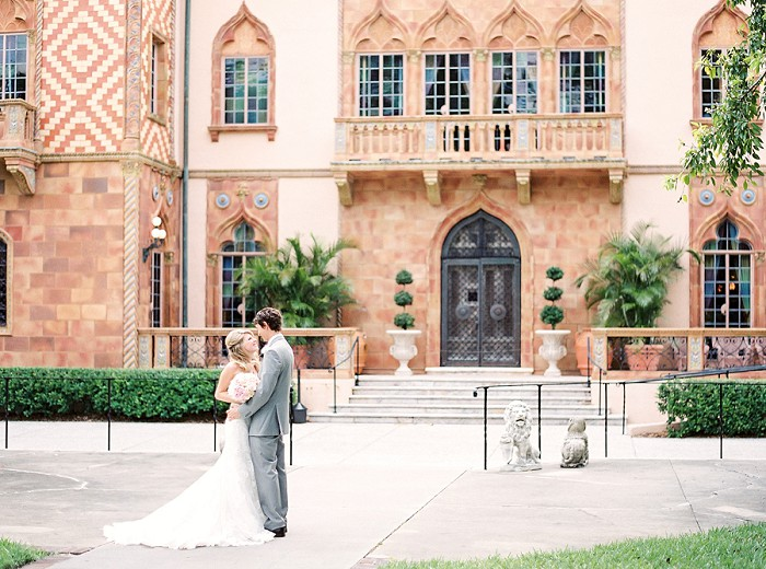 Cà d'Zan Ringling Museum Sarasota Destination Fine Art Film Wedding Photography | www.codyhunterphotography.com