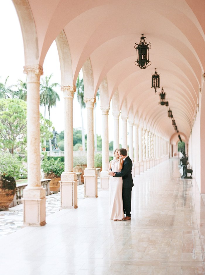 florida film wedding photographer | ringling museum engagement photography