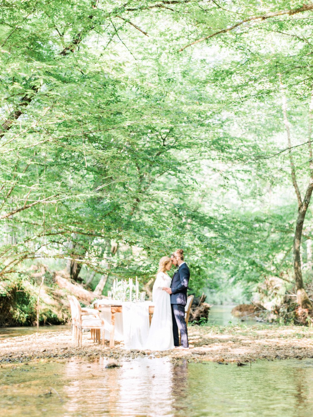 destination wedding in the North Carolina mountains