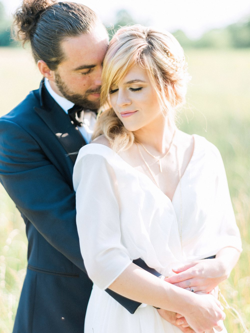 Asheville, NC mountainside wedding inspiration