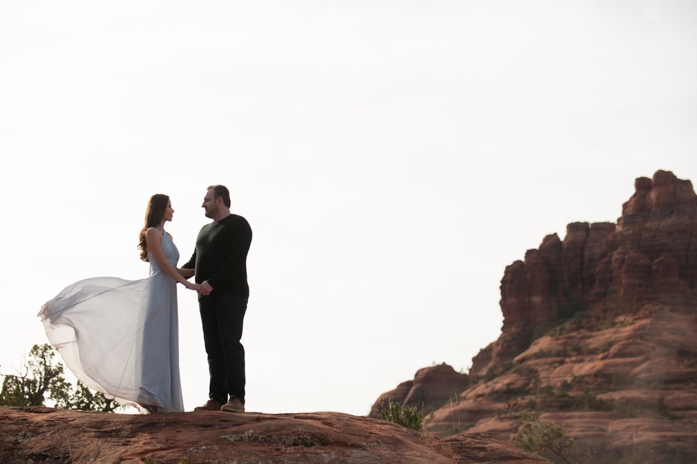 Engagement Session in Sedona, AZ