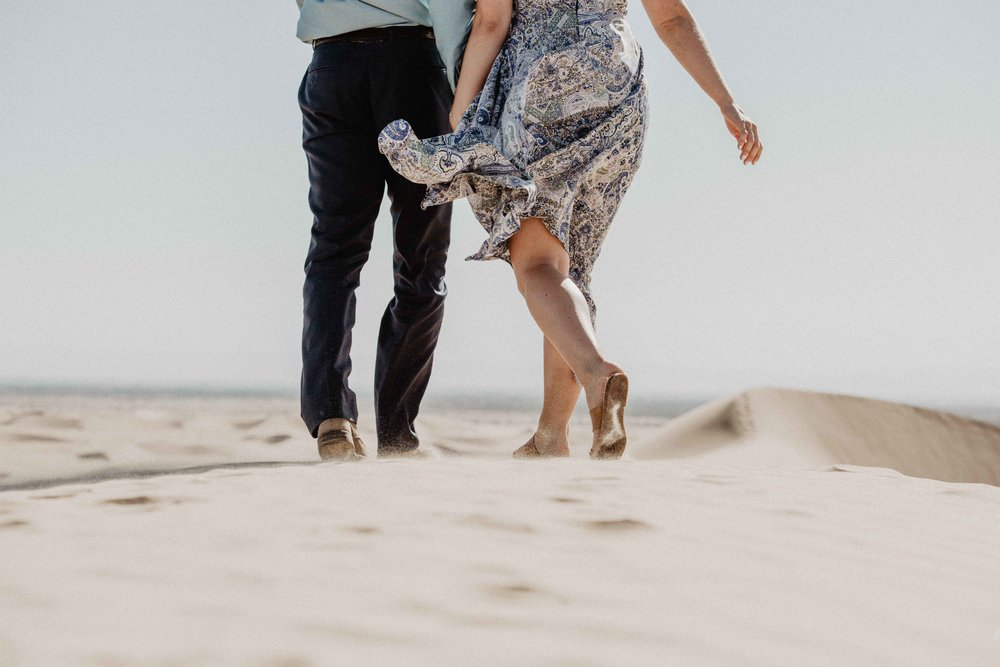 Sand Dunes Elopement - Adventure Wedding Photographer
