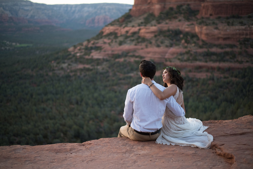 Sedona Adventure Elopement Photographer