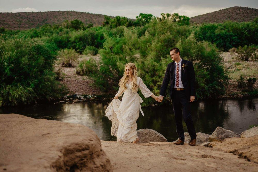 Arizona Elopement Photographer - Adventure Elopement