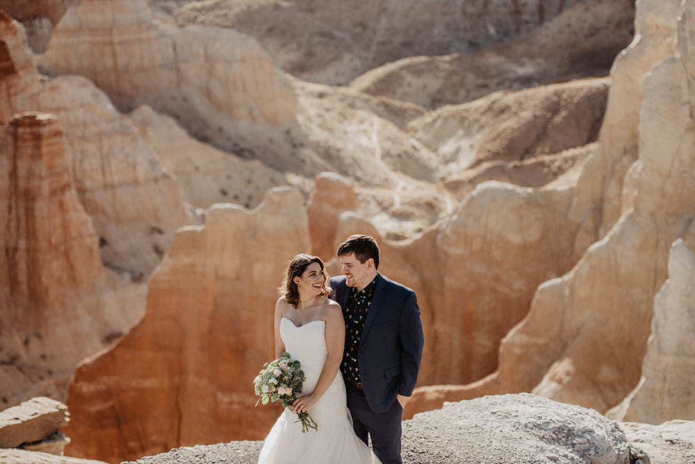 Arizona Elopement Photographer - Wild Weddings