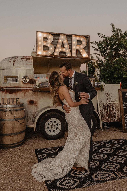 Scottsdale Backyard Wedding Photographer - Phoenix Bar Rental