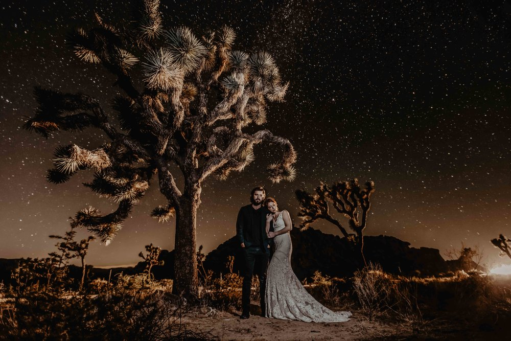 Joshua Tree National Park Elopement Photographer -