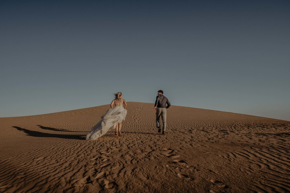 Sand Dunes Elopement - Southern California Elopement Photographer - Colorado Elopement Photographer - Arizona Elopement Photographer - Utah Elopement Photographer