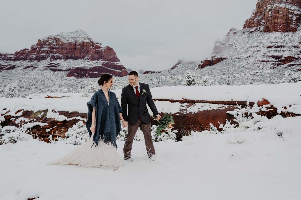 Sedona Elopement Packages - Sedona Wedding Photographer