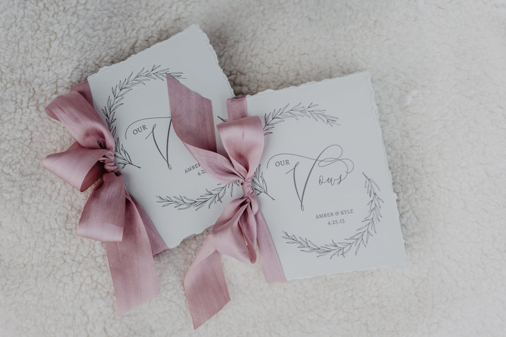vow books for elopement
