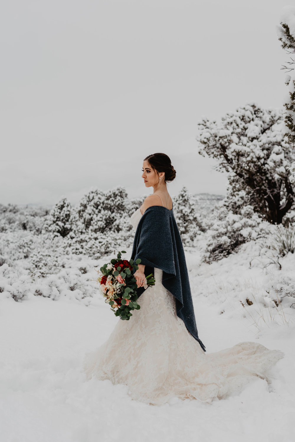 The Dress… - Amber wasn't able to wear her dress due some from damage from her own wedding. This is a pretty normal situation for anniversary shoots! She opted to use one of my wedding dress rentals!@azweddingrental