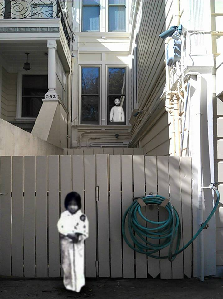 Write here...Bà Tâm (Grandmother's youngest sister) 1953, and Grandfather's younger sister, 1950 @ San Francisco, 2013