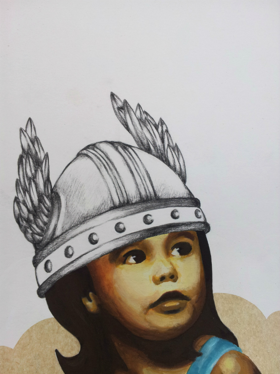 Little Warrior No. 1   - detail