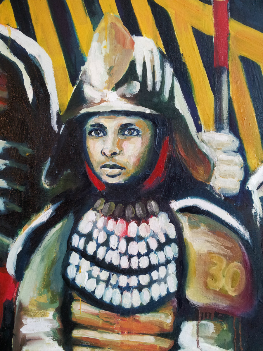 The City of Warriors   - detail of Stephen Curry