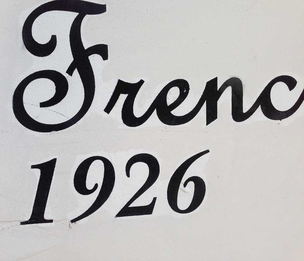 French Script and ITC New Baskerville Bold Italic