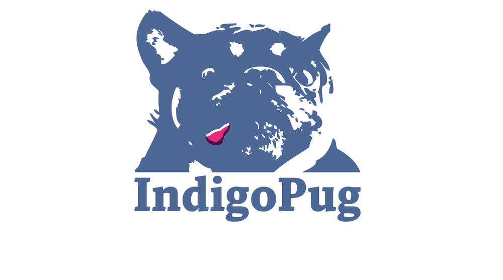 Indigo Pug ~ Logo Design and Branding
