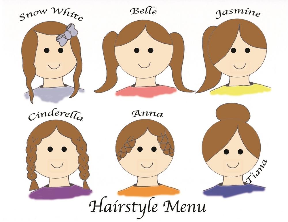 Hairstyle Menu