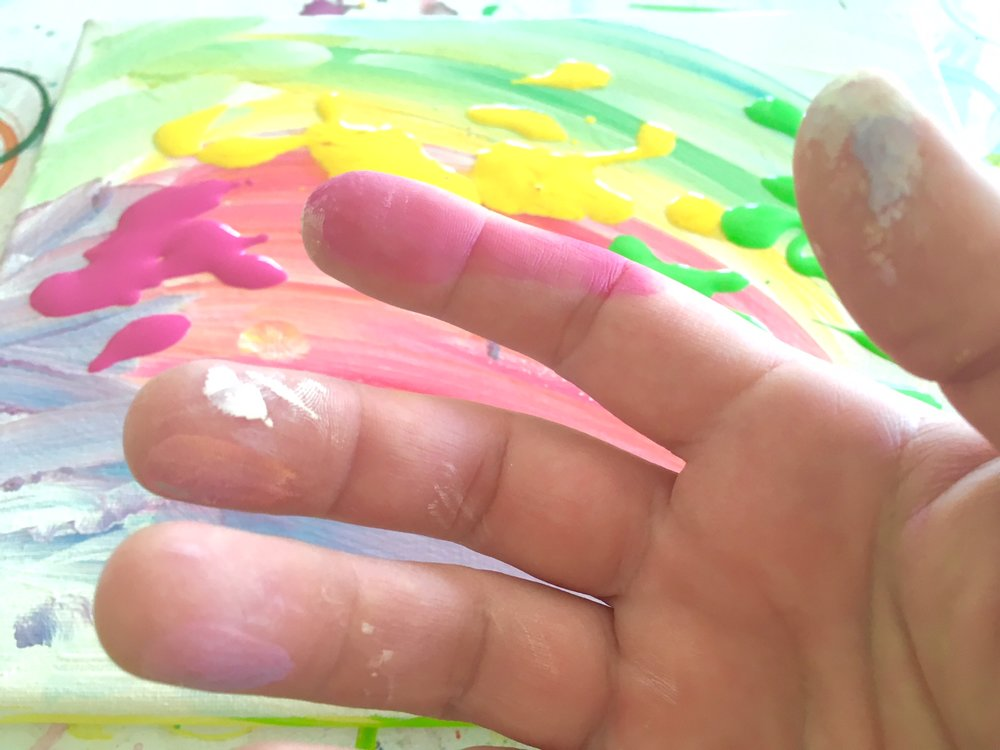 #4 I hate having my hands dirty.     -