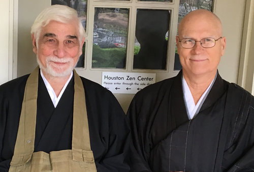 Kogen Glen Duval and Rev. Yazan Dave Johnson