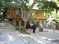 Tassajara Dining Room and Courtyard