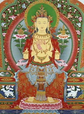 Maitreya, the Buddha of Loving-Kindness