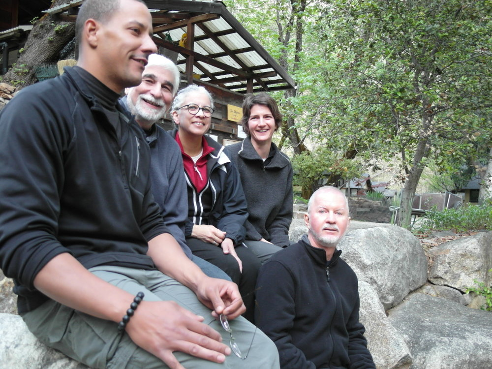 Royce, Glen, Mary, Tricia & Joe at Tassajara