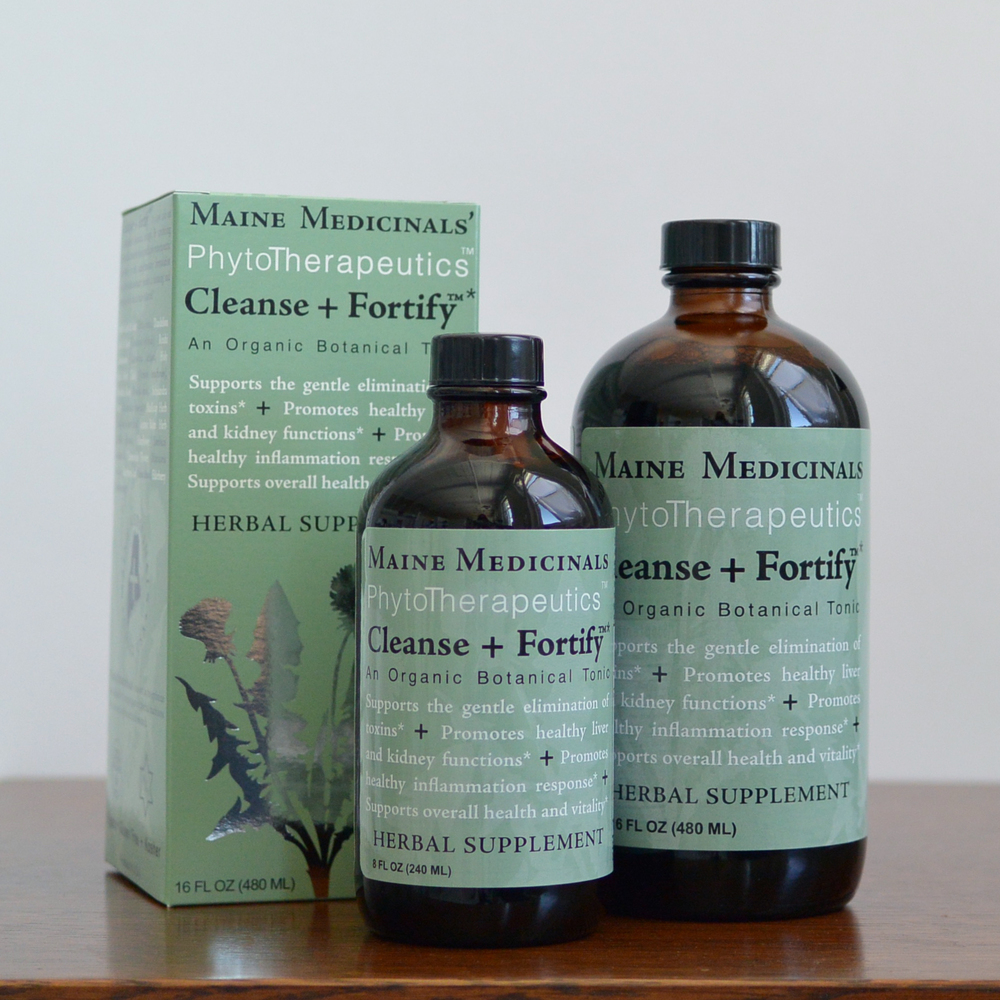 Cleanse + Fortify™     Organic Botanical Tonic  Promotes Healthy Liver and Kidney Function*  $25.95 - $37.49