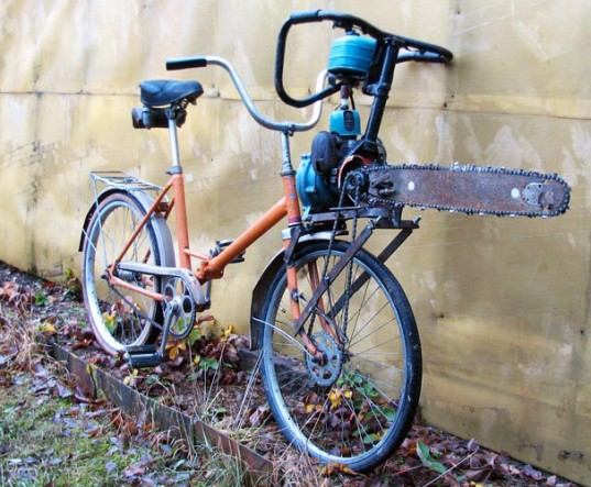 Chainsaw Bike!