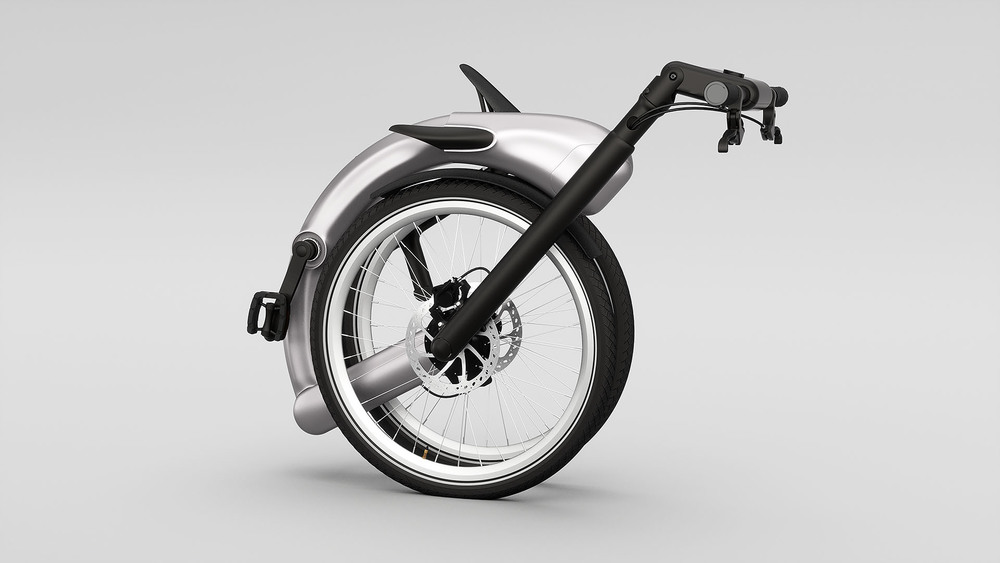 FOLDABLE CHAINLESS ELECTRIC BIKE