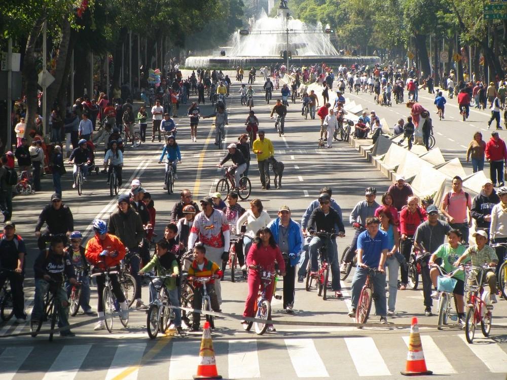 DOMINGO DE BICICLETAS IN MEXICO CITY